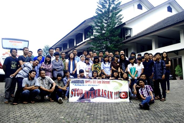 Peserta Sosialisasi GATK Keuskupan Tanjungkarang: Kami Menolak Kekerasan