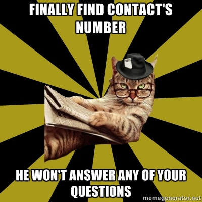 cat journalist